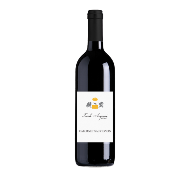 cabernet sauvignon: vini azienda agricola tacoli asquini, udine friuli