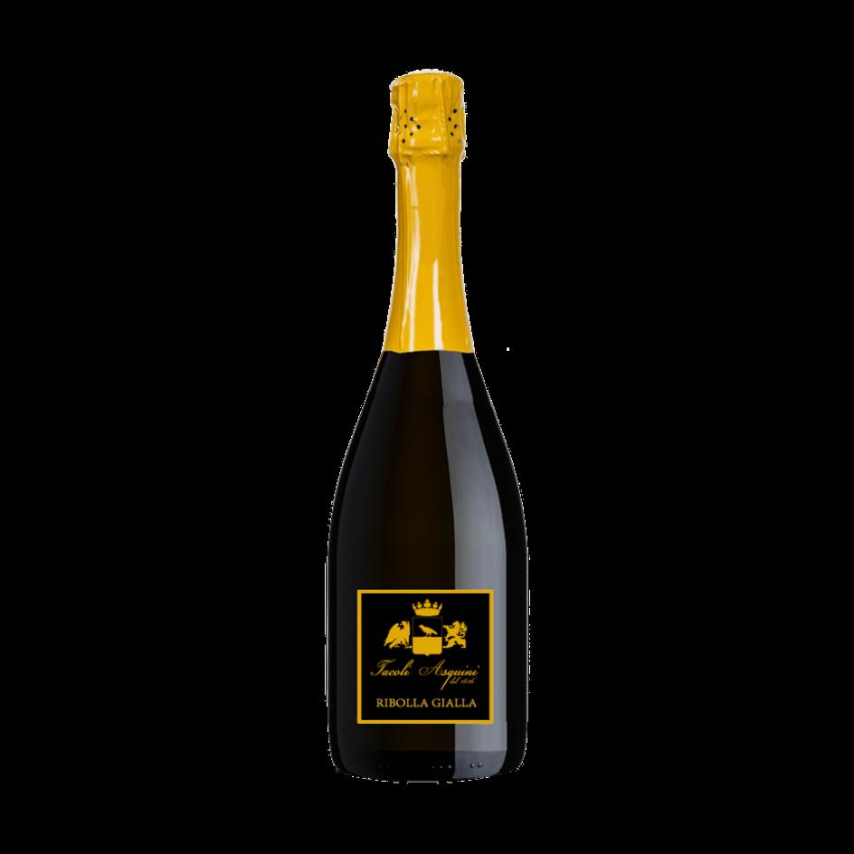 ribolla gialla brut: vini azienda agricola tacoli asquini, udine, trieste, friuli